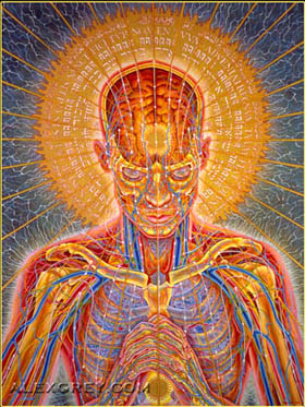 Alex Grey praying