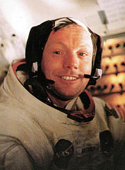 Astronaute Neil Armstrong