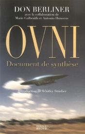 Don_Berliner : OVNI Document de synthese