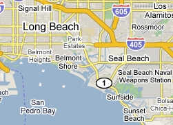 Long Beach map