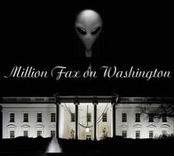 Million faxes on Washington