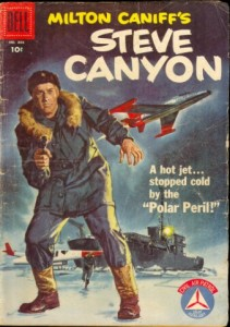 Vintage Cover Steve Canyon
